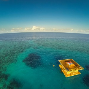 Fot. Underwater Room, Manta Resort, Tanzania.