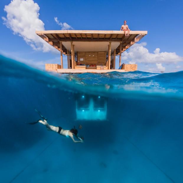 Podwodna sypialnia: chcielibyście tu zamieszkać?