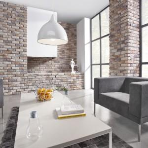 Kamień dekoracyjny Loft Brick Sahara dobrze wpisze się w aktualne trendy i zainteresowanie naturalną cegłą na ścianie. Fot. Stone Master.