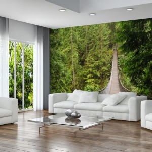 Fototapeta na ścianie: dobry pomysł na metamorfozę salonu