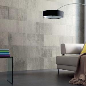 Ściana wyłożona materiałem Celenio wygląda naprawdę imponująco. Fot. Haro.