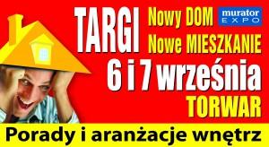 200 wystawców: deweloperów, spółdzielni mieszkaniowych, banków i pośredników kredytowych, Centrum Projektowania i Urządzania Wnętrz, Akcja edukacyjna Akademia Dobrze Mieszkaj. To wszystko już 6 i 7 września na warszawskim Torwarze – zapraszam