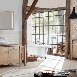 Łazienka w stylu vintage. Dobieramy płytki, meble, dodatki