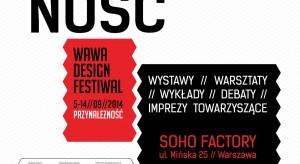 """W dniach 5-14 września 2014 r. w Soho Factory odbędzie się druga edycja warszawskiego festiwalu designu """"Wawa Design Festiwal"""". W tym roku patronuje mu hasło """"Przynależność""""."""