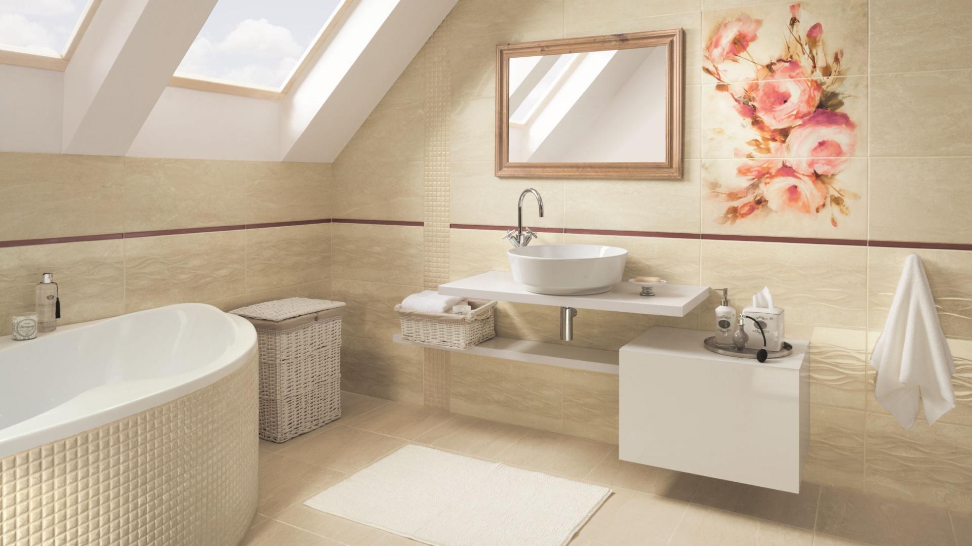 kolekcja coraline cora azienka w be ach i br zach zobacz 15 kolekcji p ytek ceramicznych. Black Bedroom Furniture Sets. Home Design Ideas