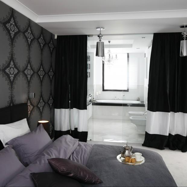 Sypialnia z łazienką. Przykłady nowoczesnych rozwiązań