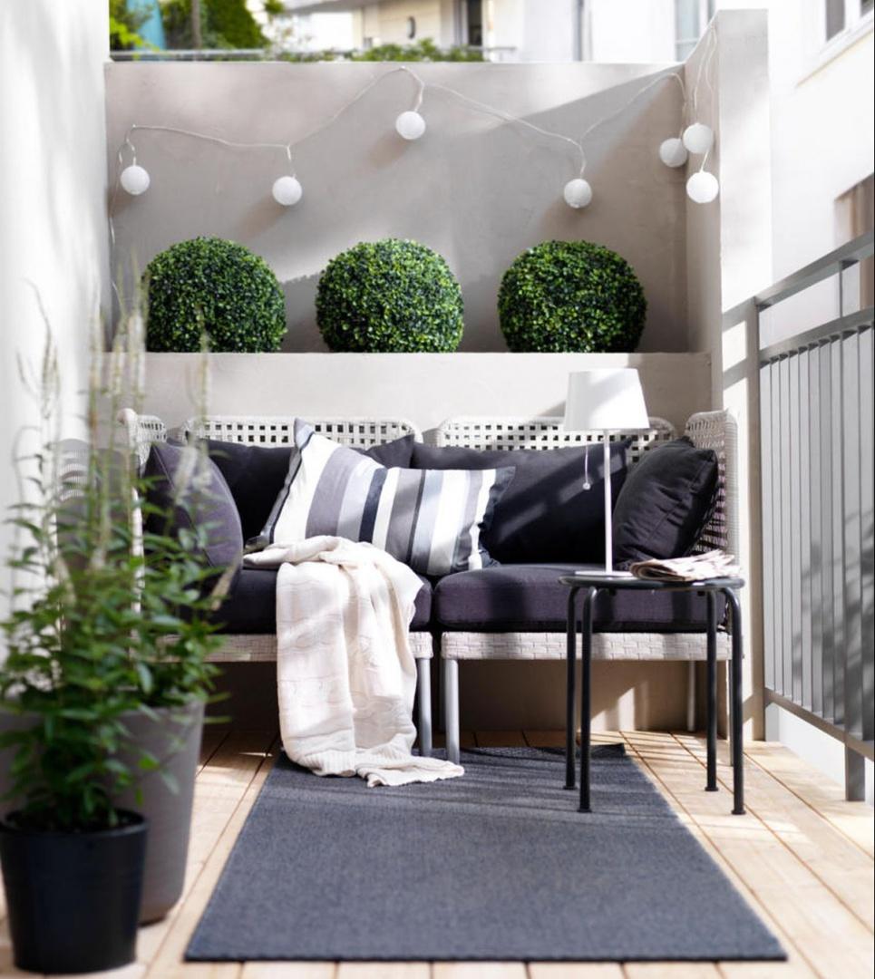 wietlne girlandy balkon w bloku zobacz pomys y na. Black Bedroom Furniture Sets. Home Design Ideas
