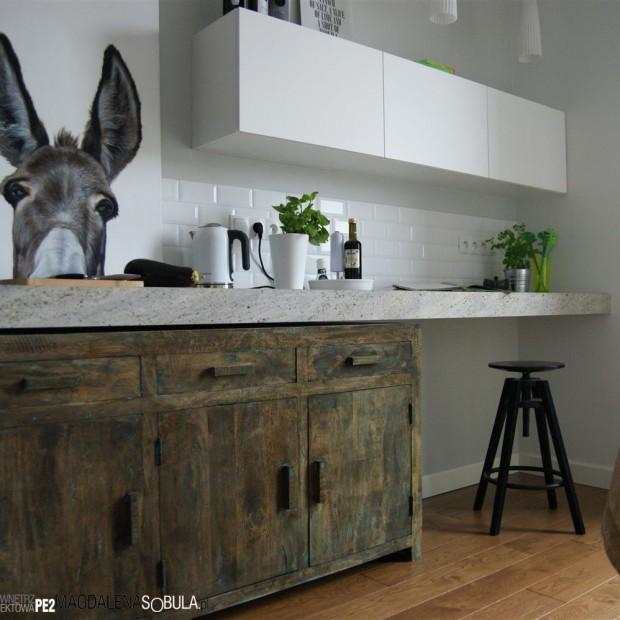 Kuchnia w stylu industrialnym - piękna aranżacja