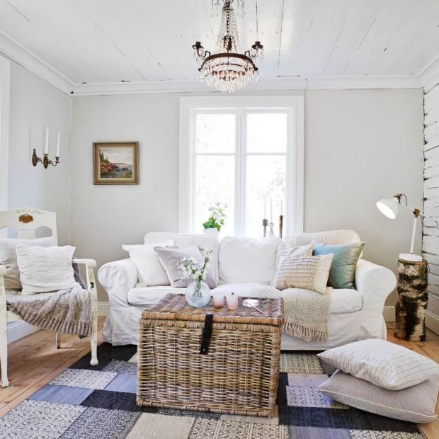 Mały dom w skandynawskim stylu