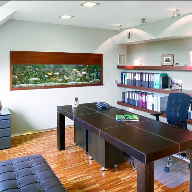Modernistyczne biuro w zabytkowej willi
