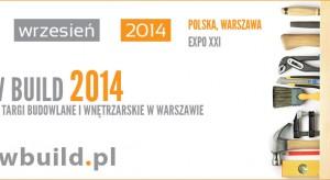 Międzynarodowe Tragi Budowlane i Wnętrzarskie Warsaw Build 2014 odbędą się 18-20 września w Warszawskim Centrum EXPO XXI. Impreza została objęta Patronatem Honorowym Stowarzyszenia Architektów Polskich.