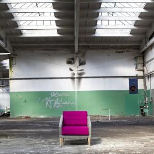 Betonowy fotel Timeless. Fot. Morgan & Möller.