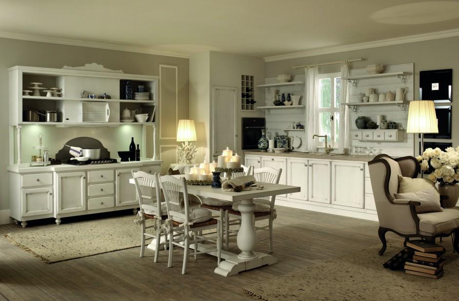 Rustykalne meble SOLAIA w Klasyczna kuchnia Tak urządzisz ją w jasnych   -> Kuchnia Meble Rustykalne