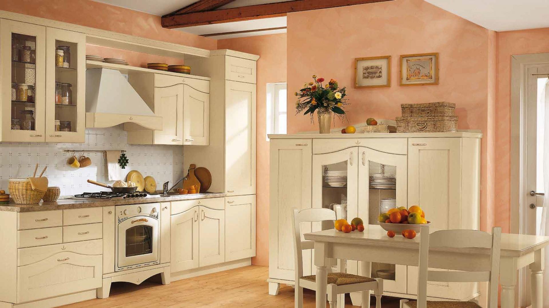 Meble kuchenne w klasycznym Klasyczna kuchnia Tak urządzisz ją w jasnyc   # Kuchnia Meble Rustykalne