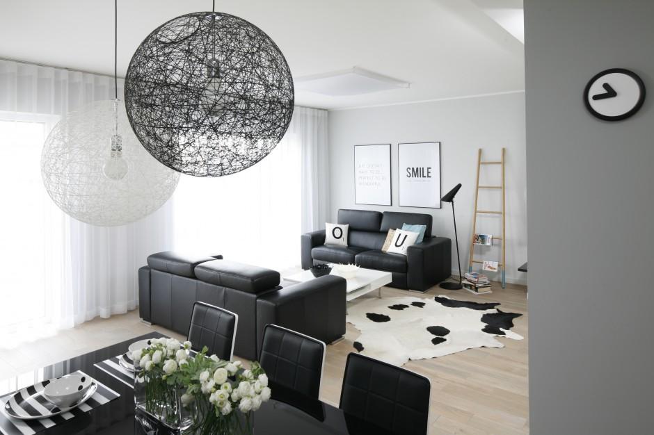 czarne sk243rzane sofy z nowoczesny salon wybierz