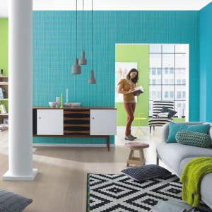 Kolorowe ściany. Ciekawe pomysły do salonu