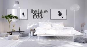 Ulubiony cytat, motto czy słowa, które poprawiają nam humor mogą ozdobić ścianę w sypialni.