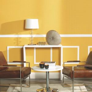 Ciepły, żółty kolor sprawdzi się w klasycznych, eleganckich wnętrzach. Fot. Exim.