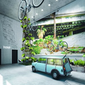 Hotel Bikini Berlin pełen innowacji