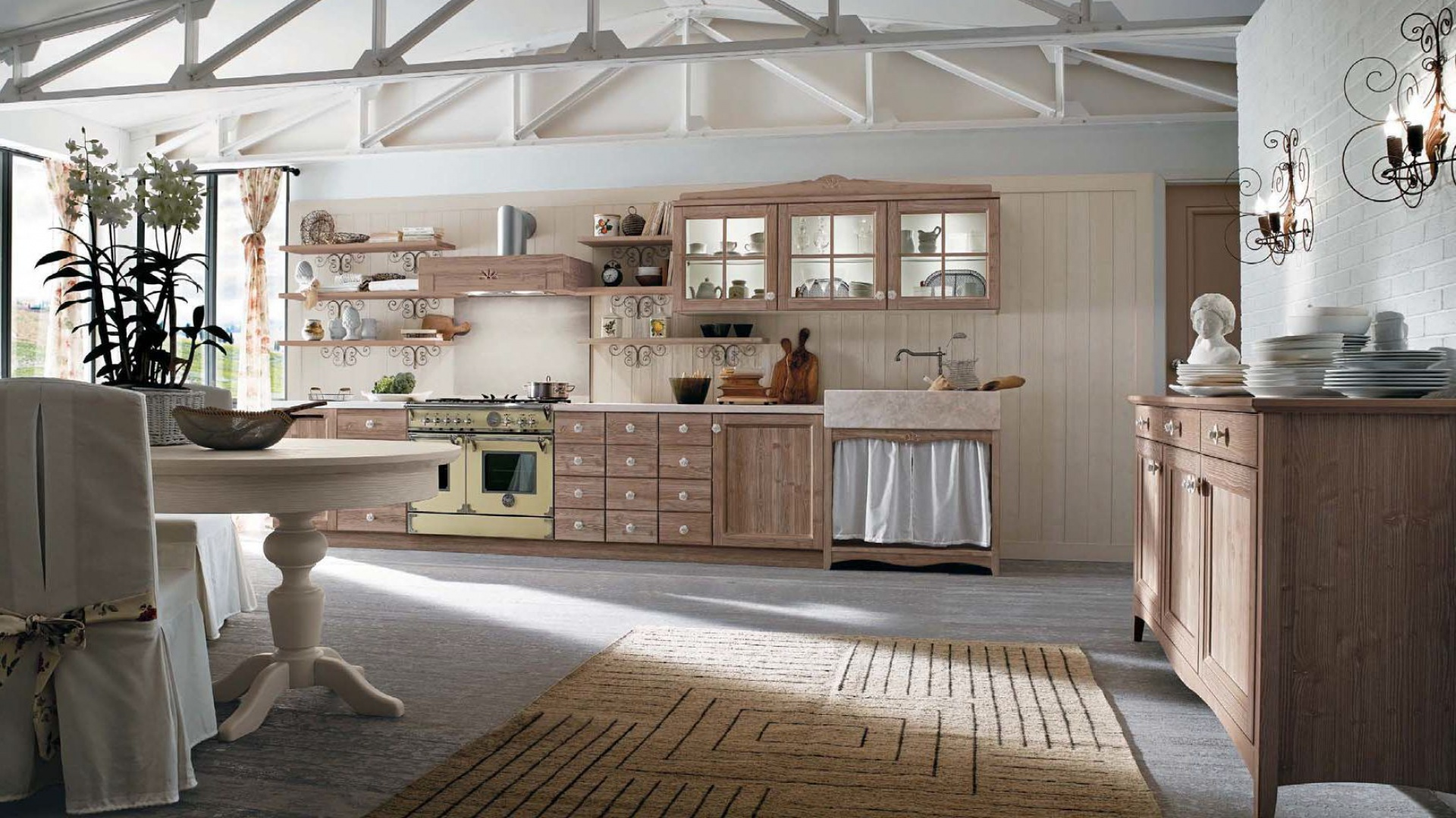 Cucine country milano