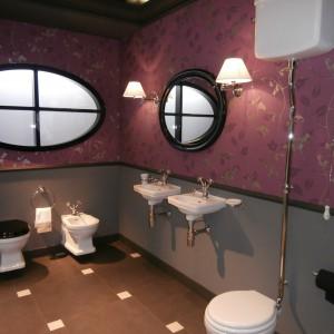 A może łazienka w stylu retro? Pełna uroku... Fot. Anna Raducha-Romanowicz.