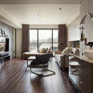 Otwarta przestrzeń dzienna przytulnego domu wręcz skłania do odpoczynku i relaksu.Fot. Fertility Design.
