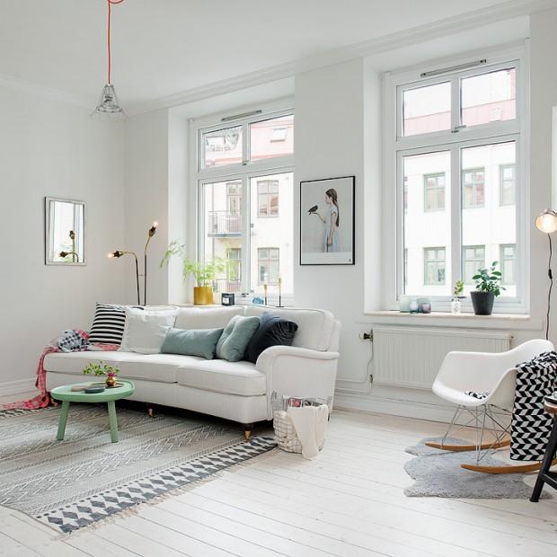 Pomysł na piękne, białe wnętrze