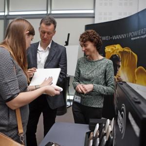 Stoisko Kaldewei – tutaj można było porozmawiać o produktach, aspektach technicznych czy dostać katalogi.