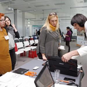 Na stoisku CAD Projekt K&A architekci mogli przetestować programy komputerowe do projektowania wnętrz.
