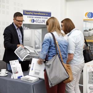 Z dużym zainteresowanie spotkała się oferta systemów drzwi przesuwnych firmy Eclisse.