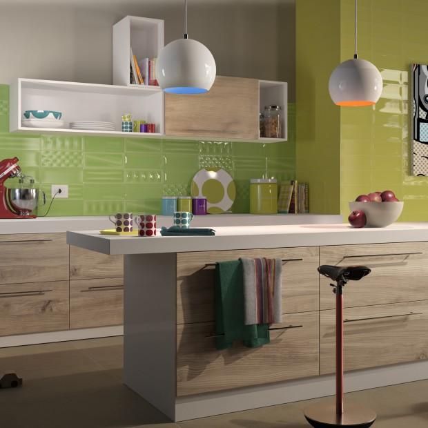 Pomysł na ścianę w kuchni - galeria inspiracji