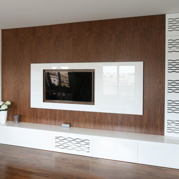 13 pomysłów na telewizor w salonie: modne panele