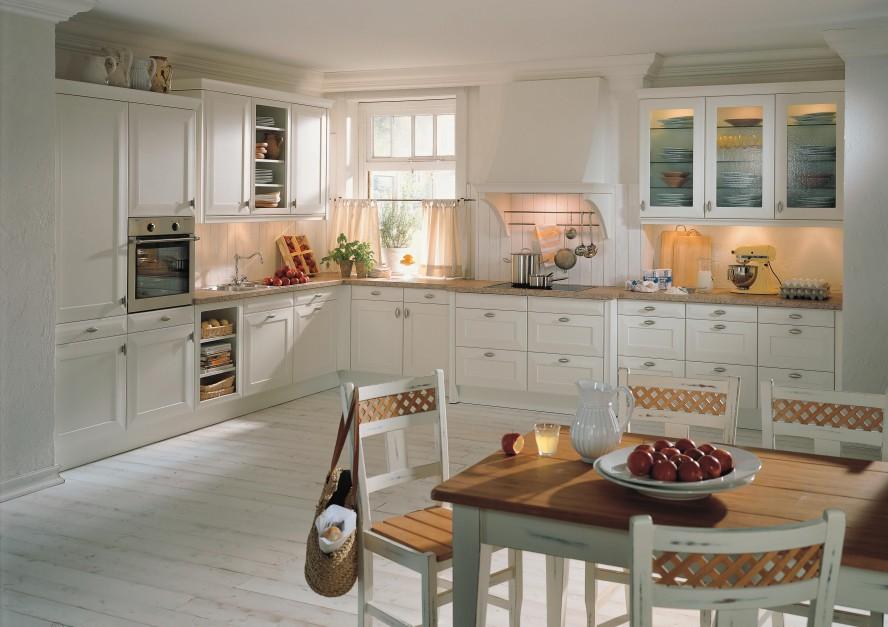 Piękne klasyczne meble do Biała kuchnia najciekawsze