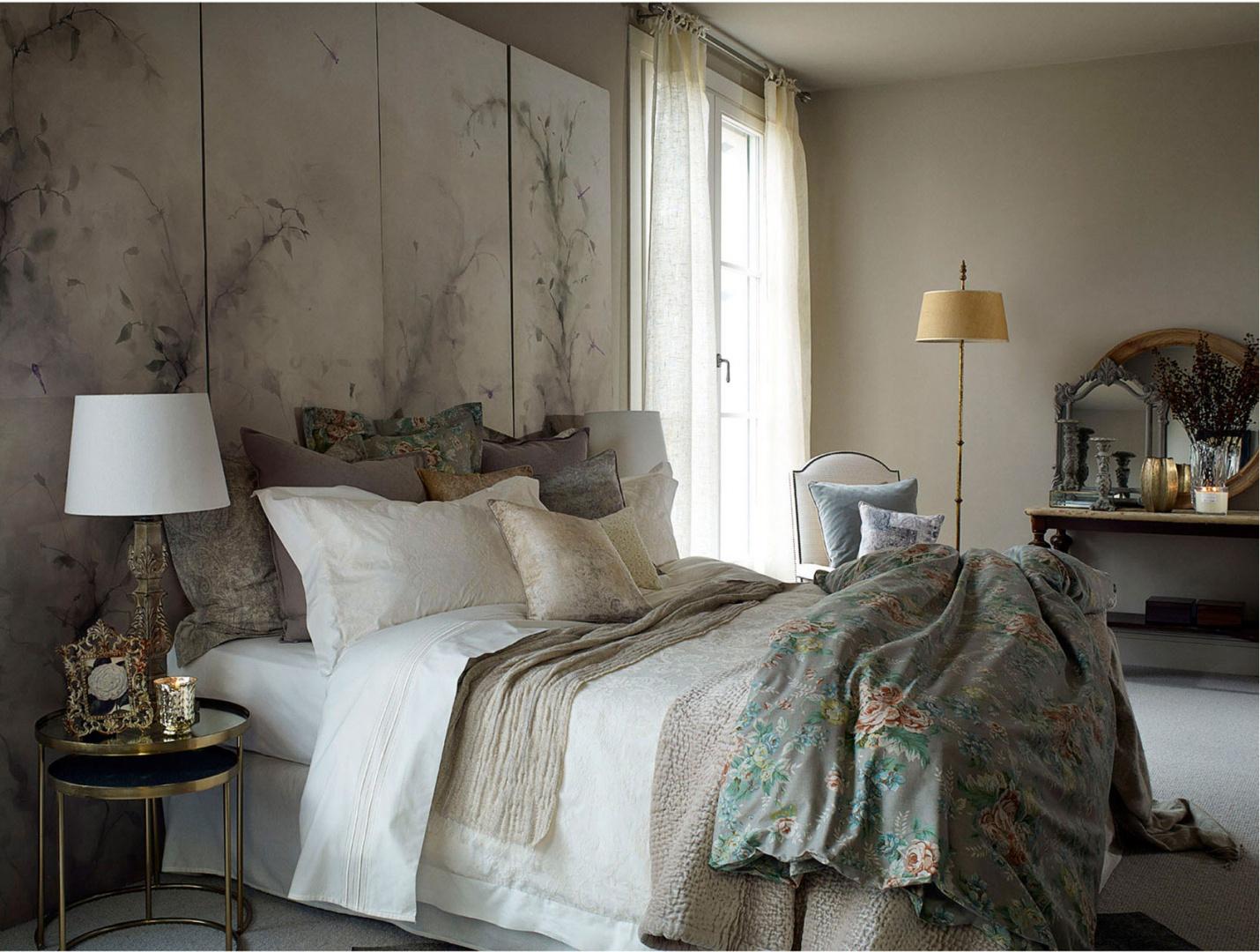 Firany i zas ony pi kne dekoracje okna w sypialni galeria - Home decoration online shopping collection ...