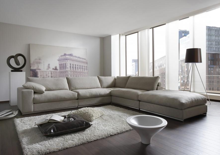 Naro nik modu owy alberta szary kolor w salonie wybieramy meble i dodatki - Zwarte bank lounge ...