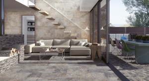 Są eleganckie, wytworne i prezentują się niezwykle efektownie. Płytki ceramiczne imitujące kamień to doskonała alternatywa dla tradycyjnej, drewnianej podłogi.