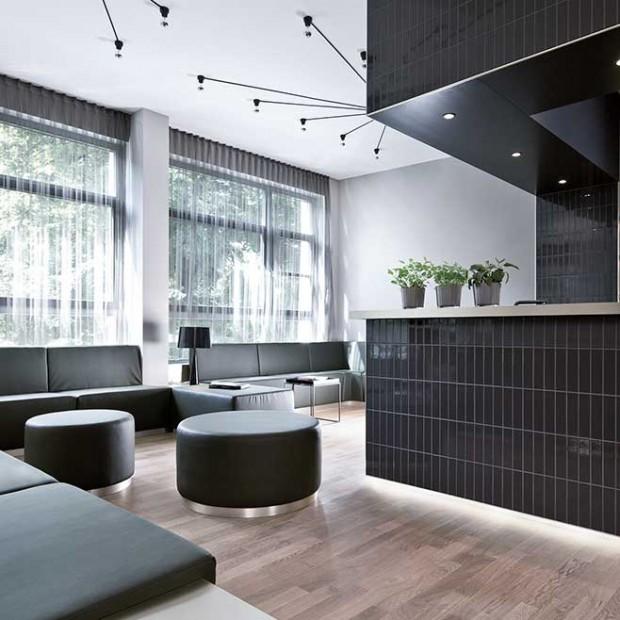 Luksusowe i nowoczesne wnętrze. Apartament w Berlinie