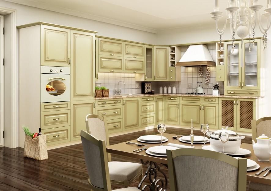 waniliowe meble z klasyczna kuchnia wybierz do niej