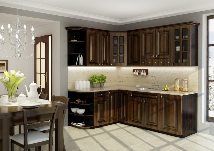 Meble z frontami Klasyczna kuchnia Wybierz do niej   -> Kuchnia Z Frontami Szklanymi