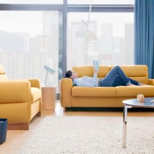 Sofa do salonu. 15 modeli z funkcją spania