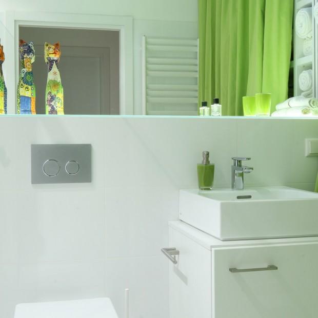 Łazienka dla rodziny – mała, ale praktyczna