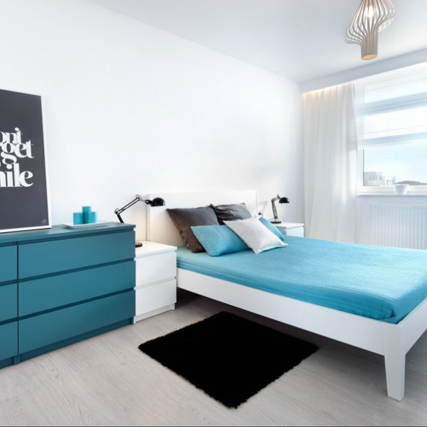Jak wydzielić sypialnię z większego pokoju?