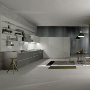 Nowoczesna kuchnia Icon marki Ernestomeda zawiera około 20 rozwiązań technicznych, które są zastrzeżone i chronione patentami. Fot. Ernestomeda.
