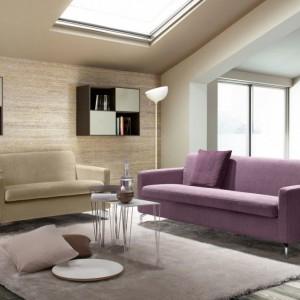 Proste kształty mebla sprawią, że sofa w każdej stylistyce będzie wyglądać dobrze. Fot. Colombini Casa.