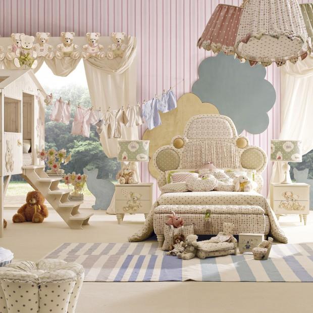Pokój dziecka jak z bajki. Piękne meble i dodatki