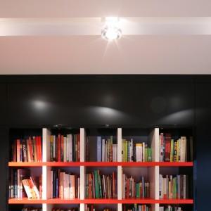 W nowoczesnych reflektorach można dowolnie ustawiać kąt padania światła. Projekt: Katarzyna Kiełek. Fot. Bartosz Jarosz.