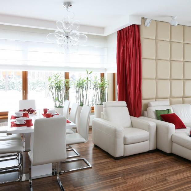 Halogeny w salonie: pomysły architektów