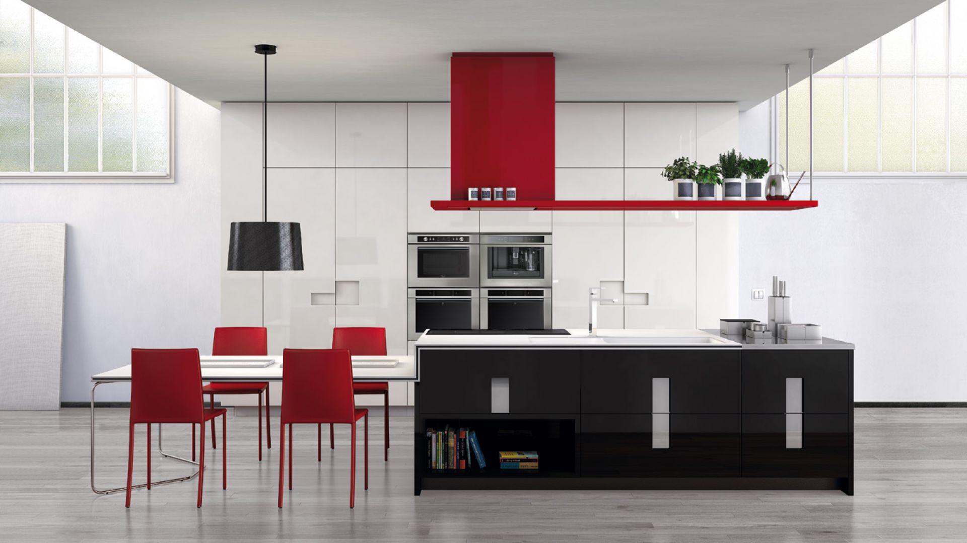 pomys� na czerwie� dla czerwona kuchnia pomys�y na