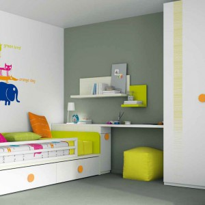 Kolorowe meble do pokoju dziecka. Praktyczne i dekoracyjne