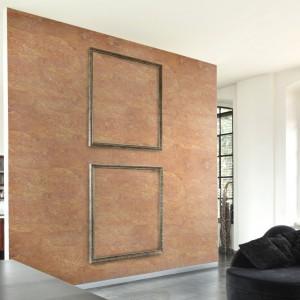 Fanom ciepłych beży spodoba się ściana wykończona materiałami dającymi efekt Piaskowej Burzy z Systemu Kreatywnej Dekoracji Primacol Decorative. Fot. Unicell Poland.